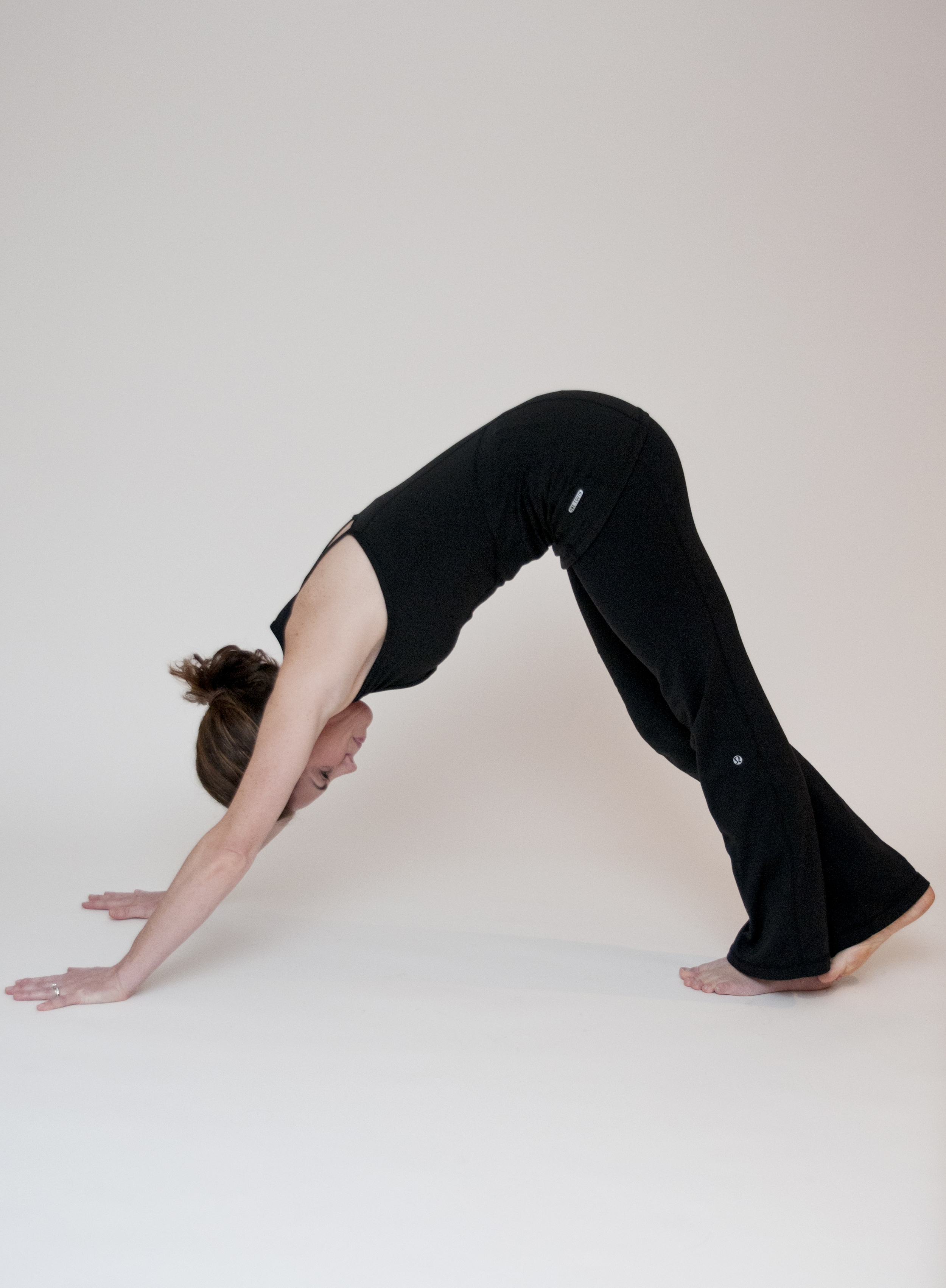 Inverted (straight knee) Calf Stretch
