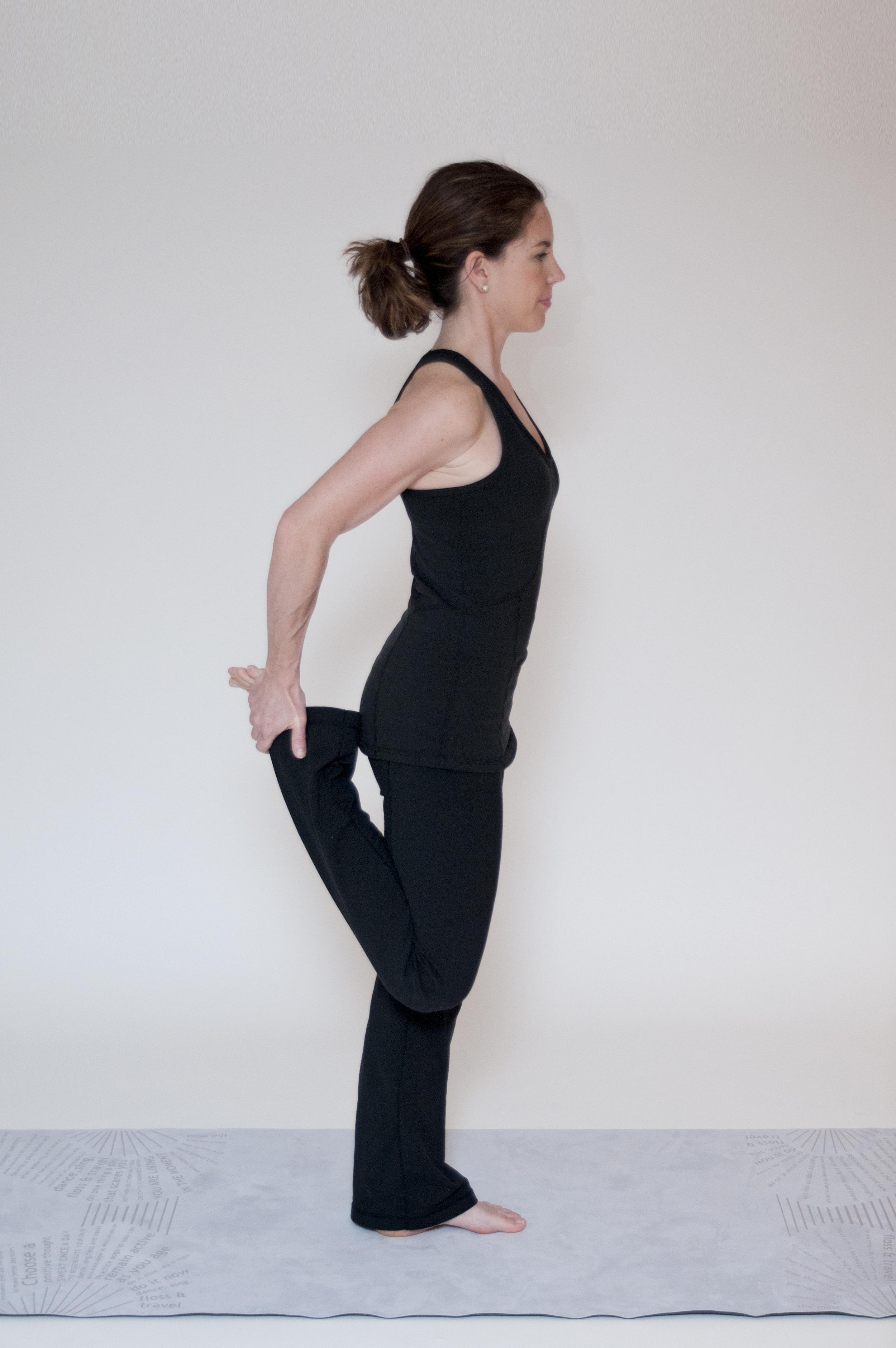 Quad Stretch (side view)