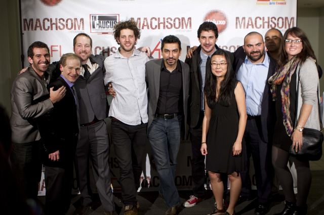 The team at the premiere! - 2012