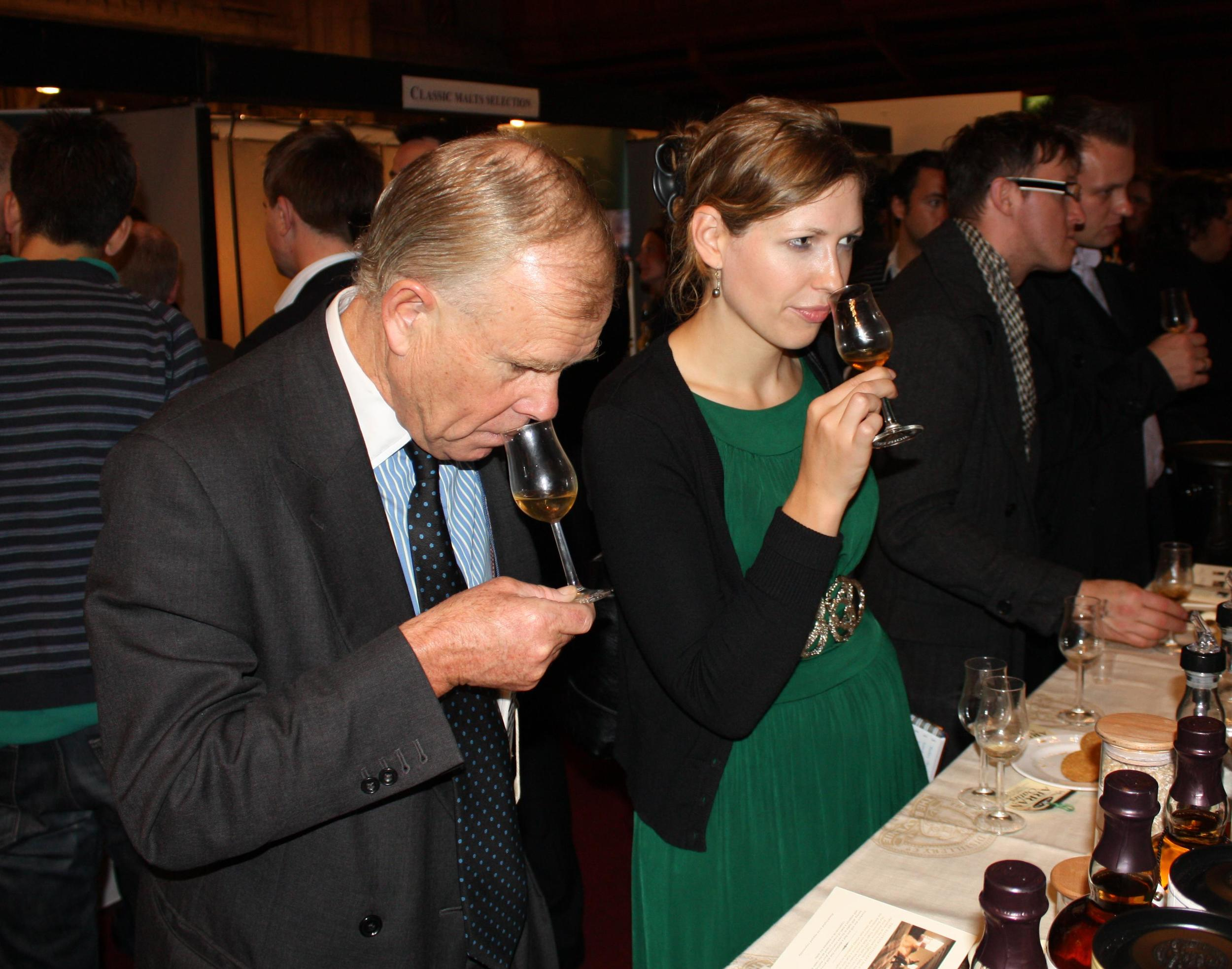 The London Whisky Show, 2009. Image by Tom Schoon.