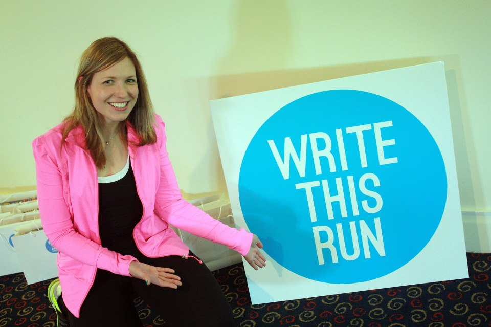 Write This Run, May 2013. Image by Tom Schoon.