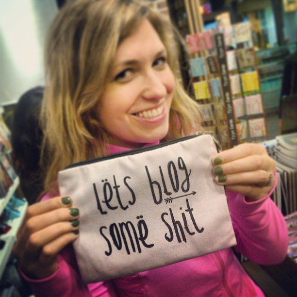 Me with a pencil case I wish I'd bought in Typo, Melbourne Central, on a too-brief visit in June 2013.