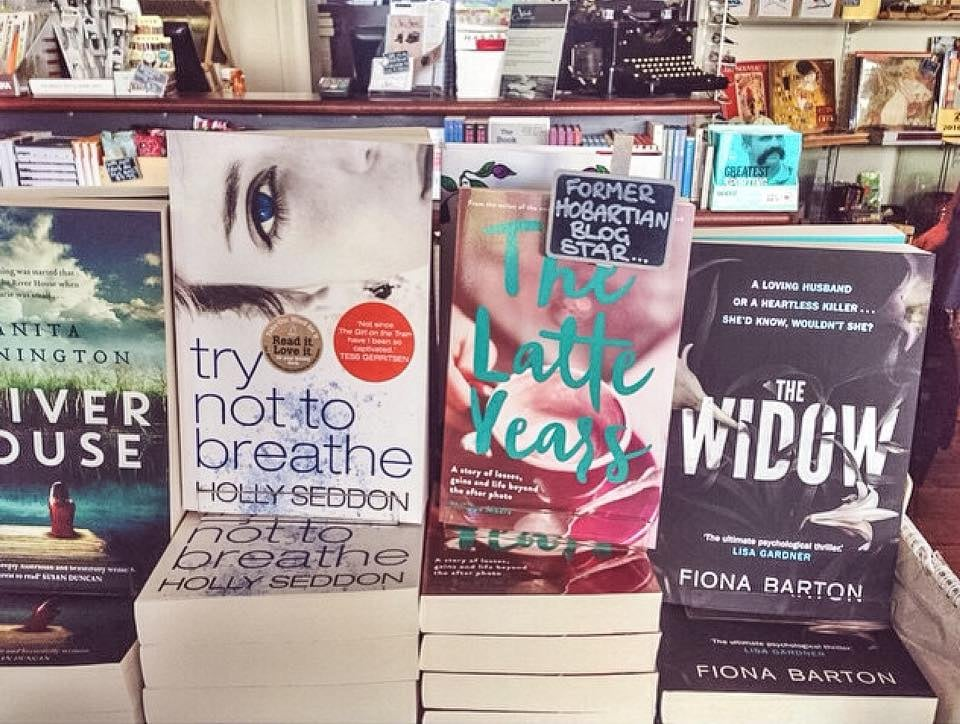 State Theatre bookshop, Hobart. Thank you  Isabel  for the photo!