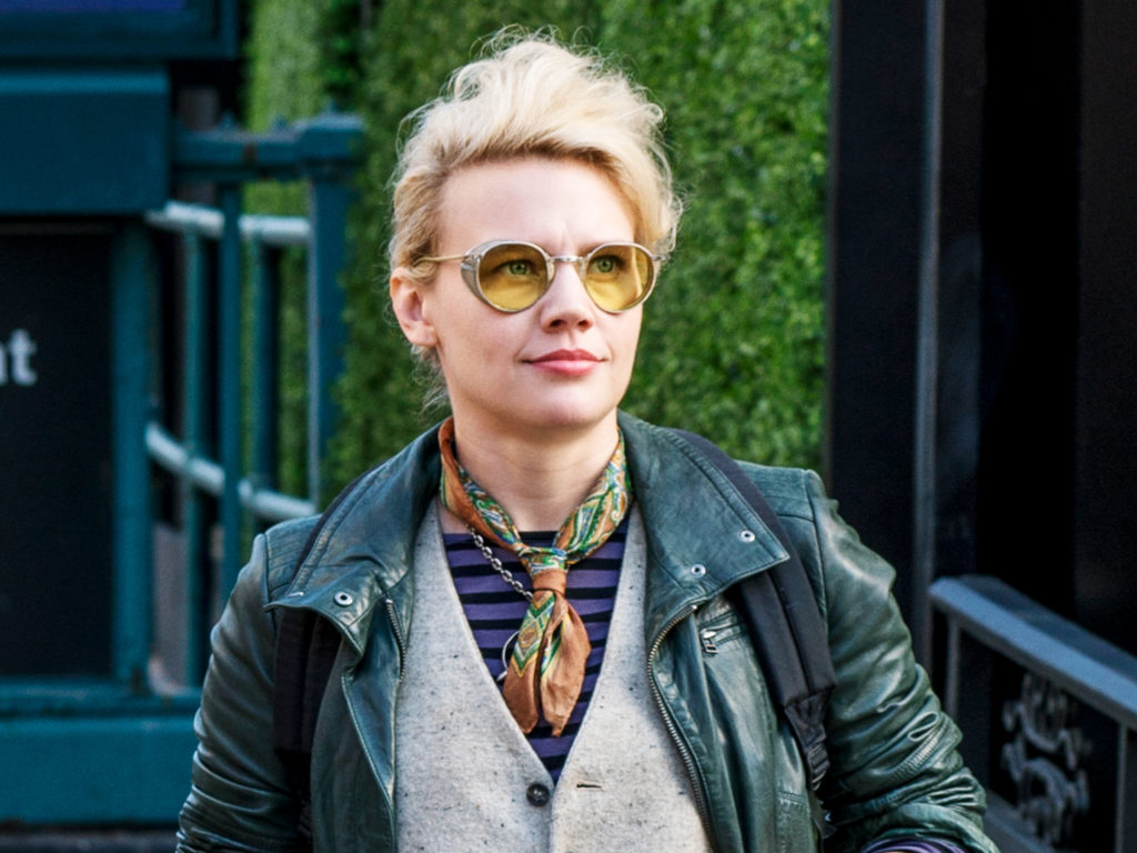 Kate McKinnon as Jillian Holtzmann. Photo: Hopper Stone/Columbia Pictures