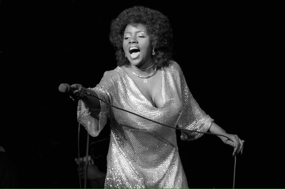 The great Gloria Gaynor ( image source )