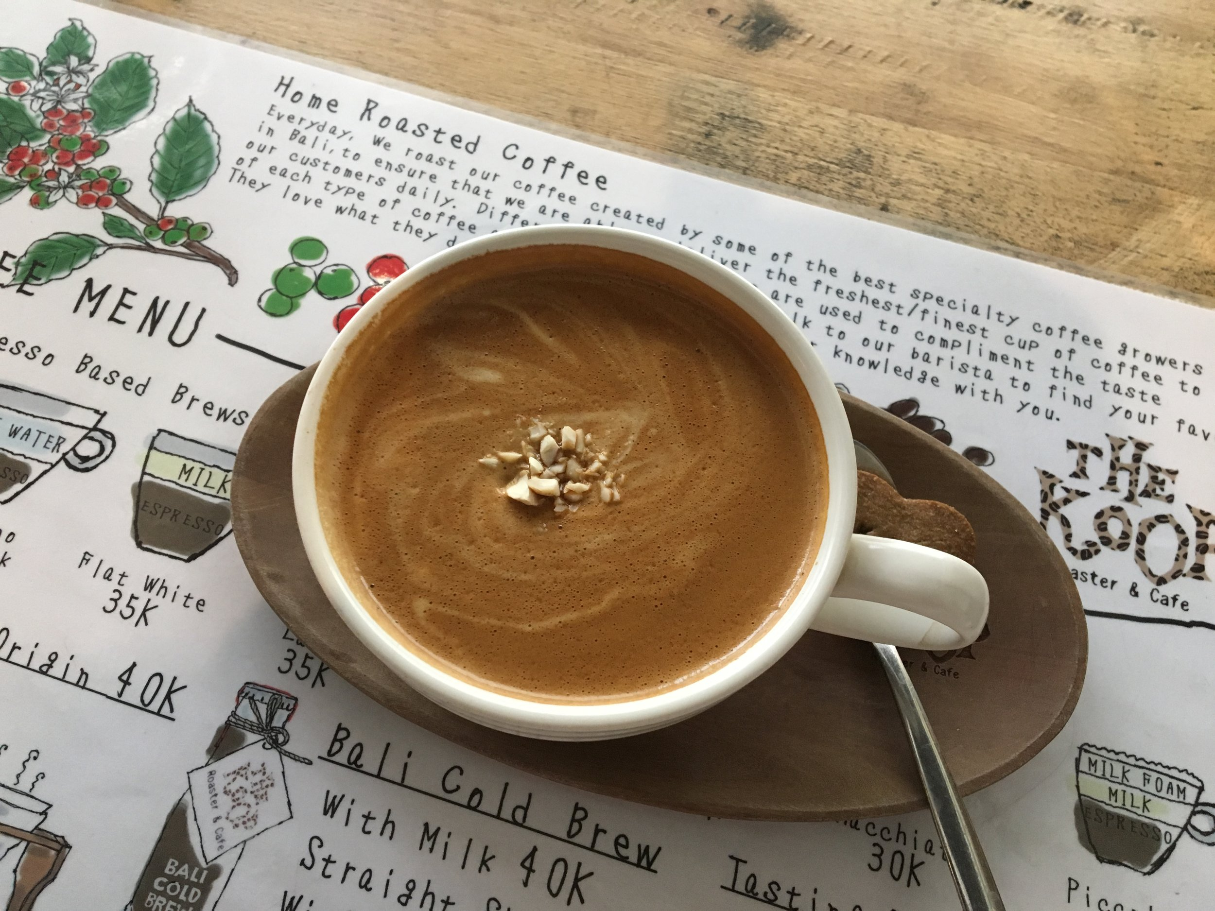 A coffee I enjoyed in Bali last week.