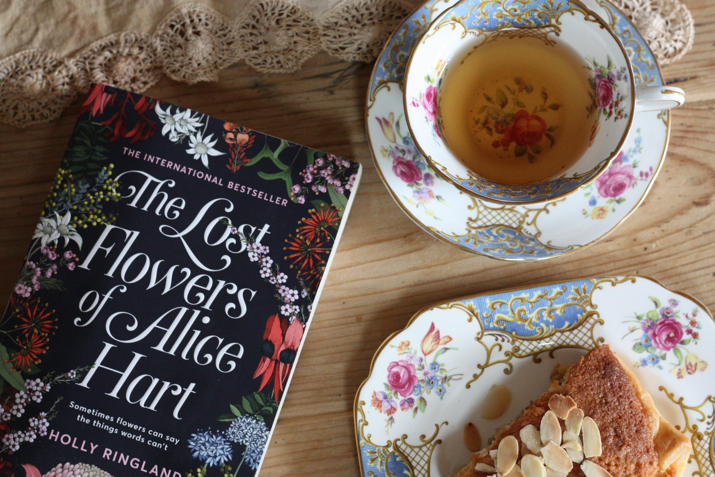 Books should always be accompanied by tea and homemade cake where possible.