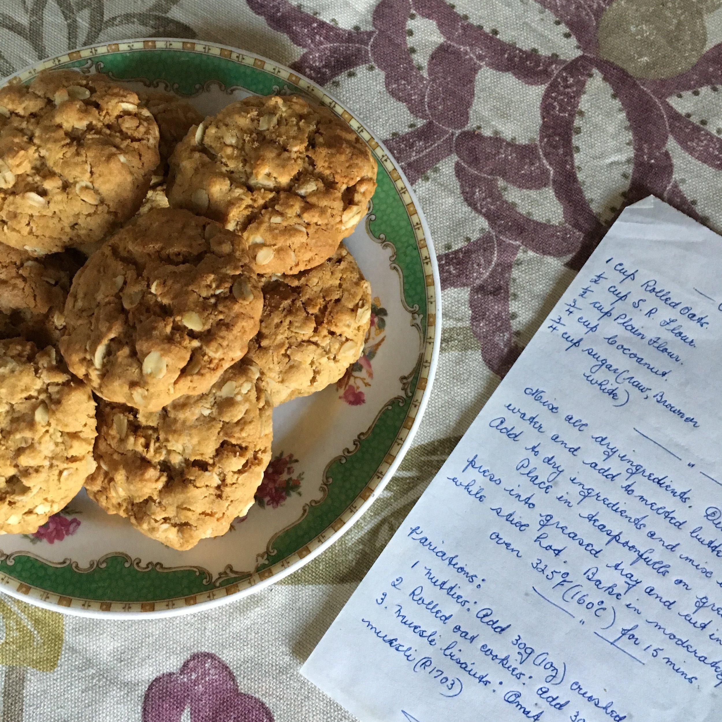 Last year's batch, made in London, to Nan's original recipe!