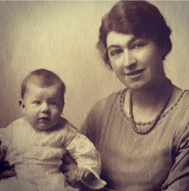 My grandmother Daphne as a baby, with her mother Pansy (her real name was Emily but everyone called her Pansy). Taken in London, November 1919.