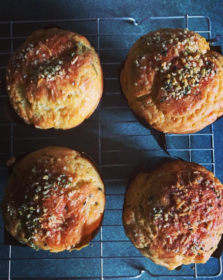 pumpkin-feta-silverbeet-muffins-philippa-moore