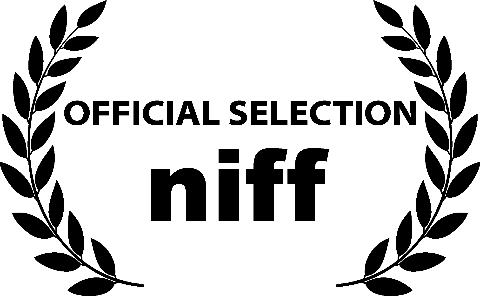 NIFF official selection black transparent.png