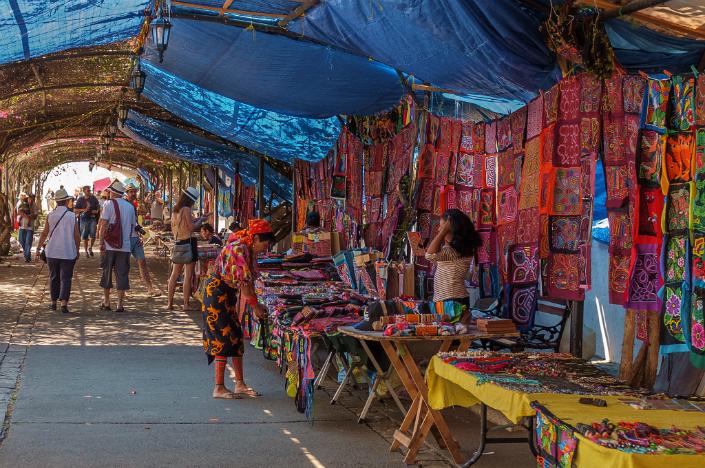 Viejo Market in Panama city.