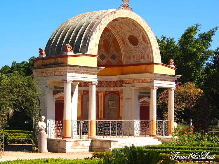 Botanical garden Vila Giulia.