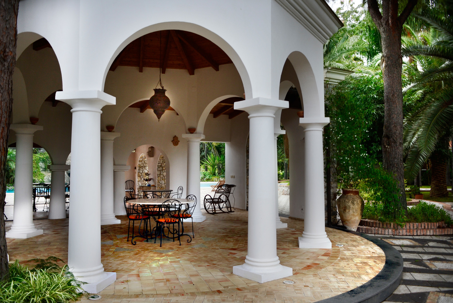 The Villa is the perfect location for your wedding reception or to celebrate an important event.