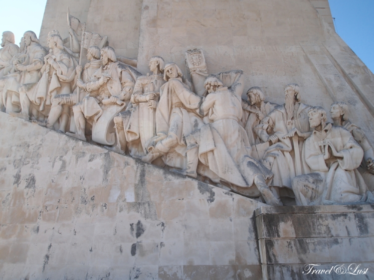 The Padrão dos Descobrimentos (Discoveries monument) celebrates the Portuguese explorers.