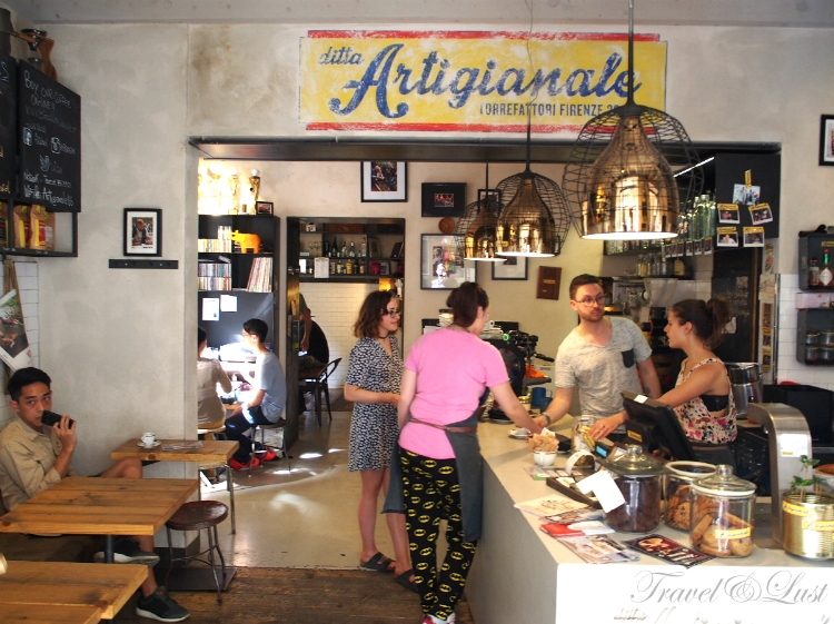 Ditta Artigianale is known for their great coffee. This one is - Address: Via dello Sprone, 3/5R, 50125 Firenze, Italy