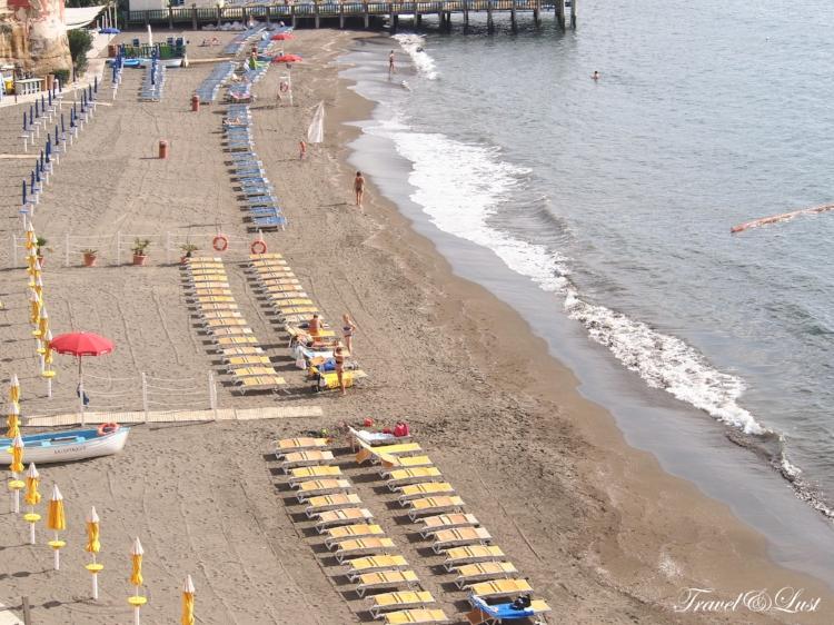 Naples beach Italy