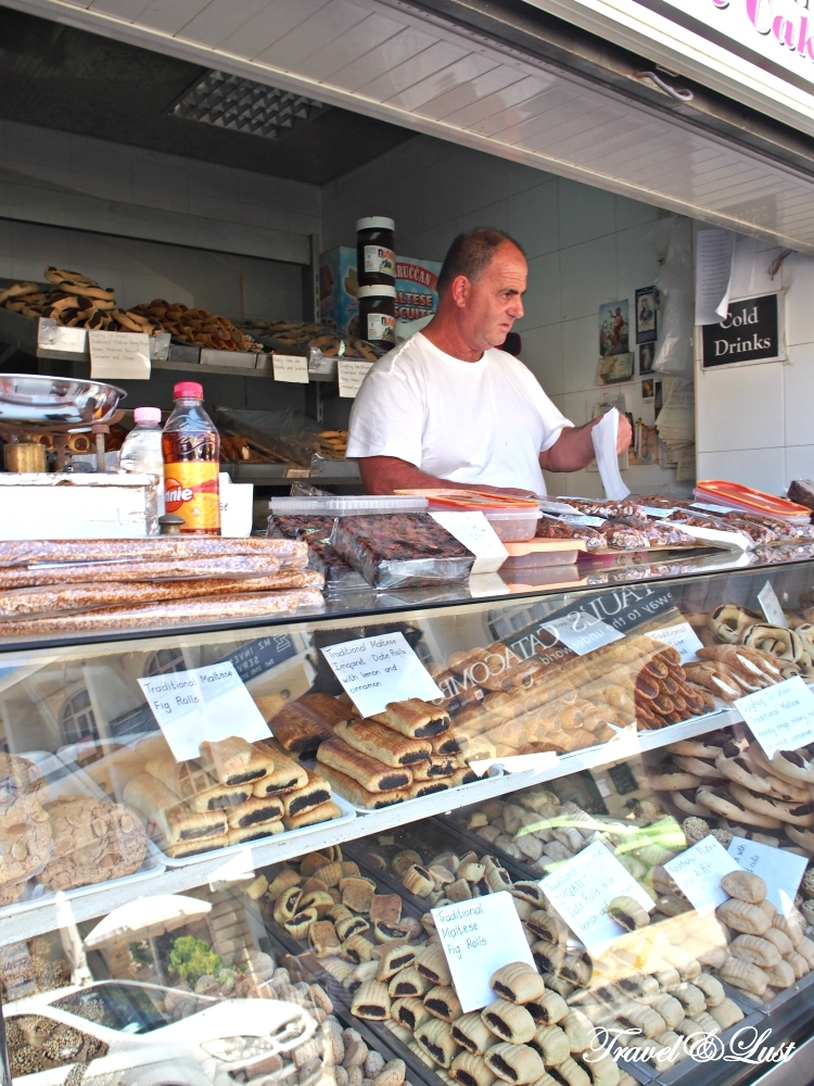Parruccan sells traditional Maltese cakes, nougat and confectionery in Rabat.