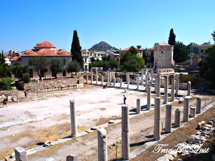The Keramikos (Kerameikos)   Archaeological Site is a former cemetery of ancient Athens. It's a quiet place and gets overlooked a lot as the Acropolis is nearby.