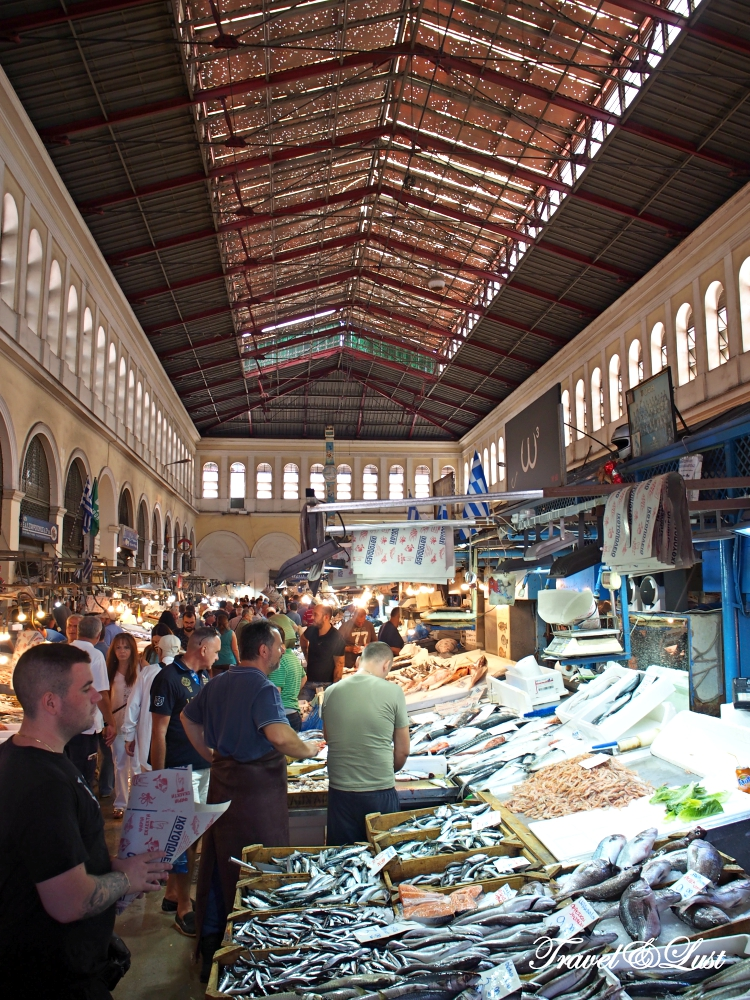 Athens Central Meat and Fish Market is the best place to get a feel for the local's way of life.