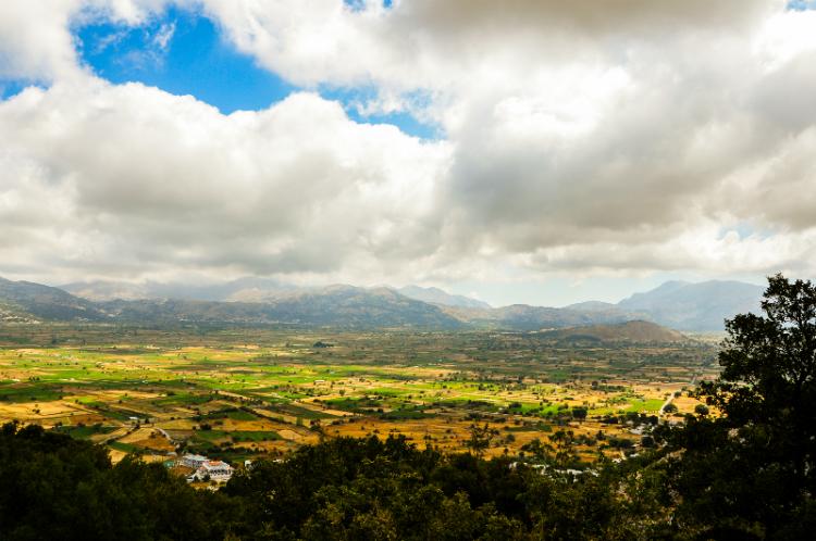 Lassithi Plateau Crete.