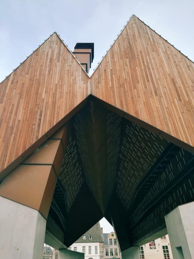 The controversial Ghent Market Hall designed by Marie-José Van Hee + Robbrecht & Daem