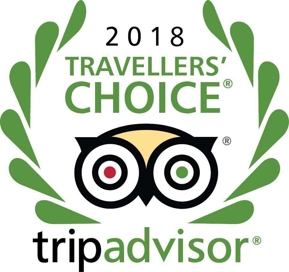 2018 Travellers' Choice Tripadvisor