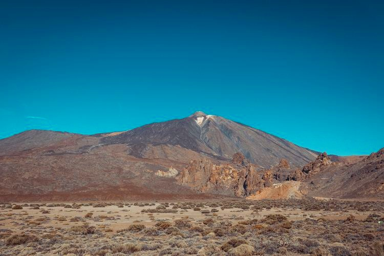 El Teide, a beautiful mountainous landscape in Tenerife, Spain.