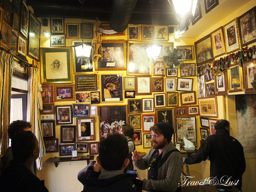 We indulged in food and drinks at the famous Taberna La Fresquita.