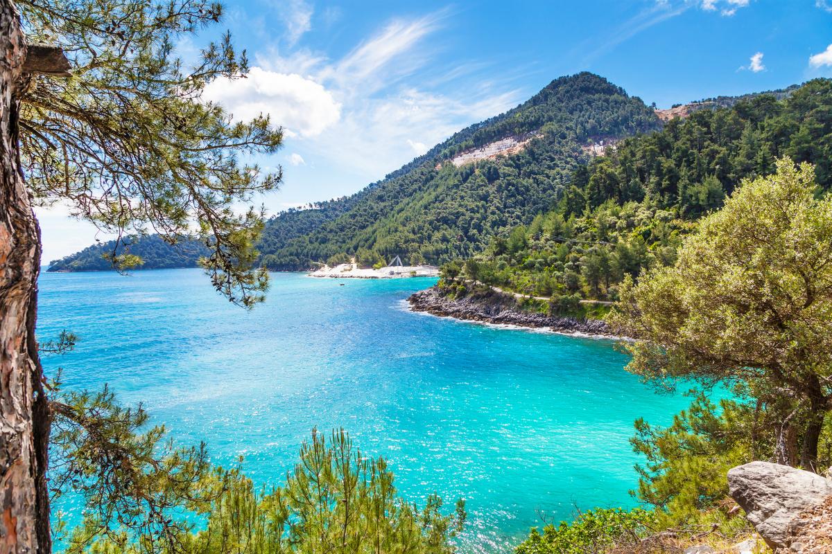 The breathtaking Thassos island.