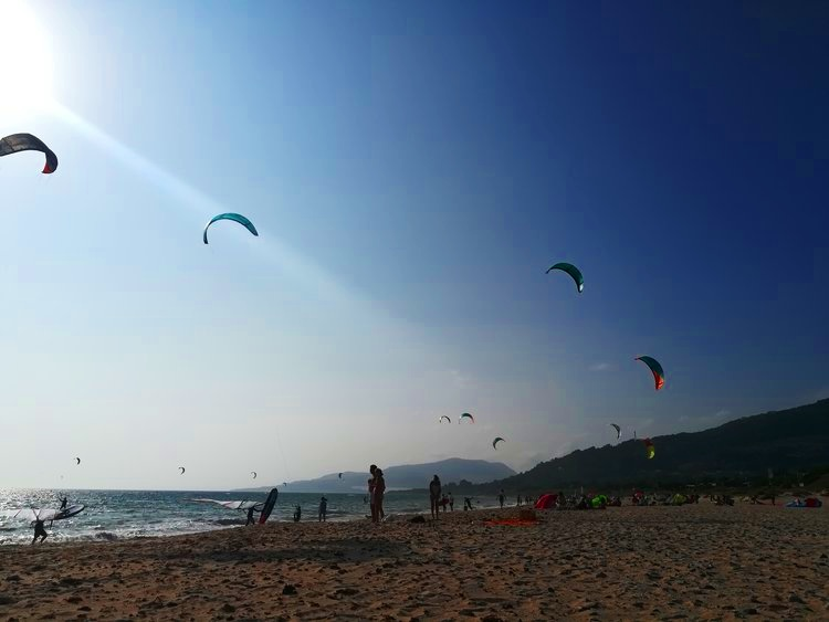 Playa de Valdevaqueros is a haven for water sports and has an abundance of beach bars.