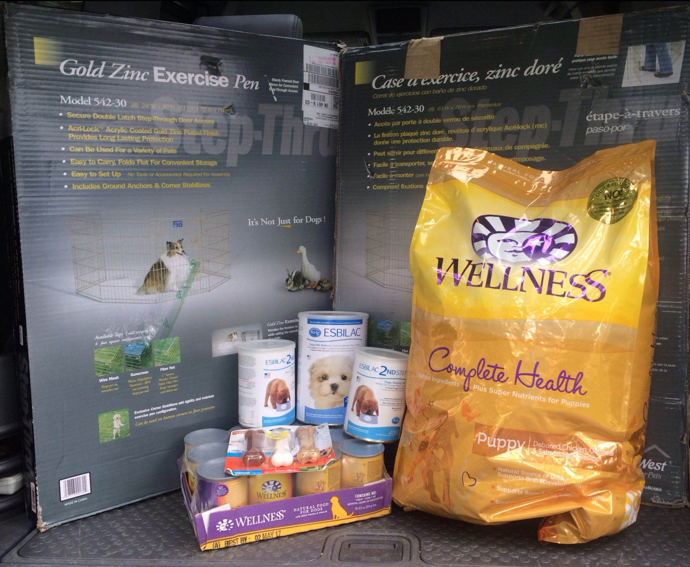 A huge thanks to Bonnie, Lisa, Jason, Jenni, Jes, Karen, Stephanee & all of your anonymous donors. These supplies made it just in time and saved us a trip to the store!