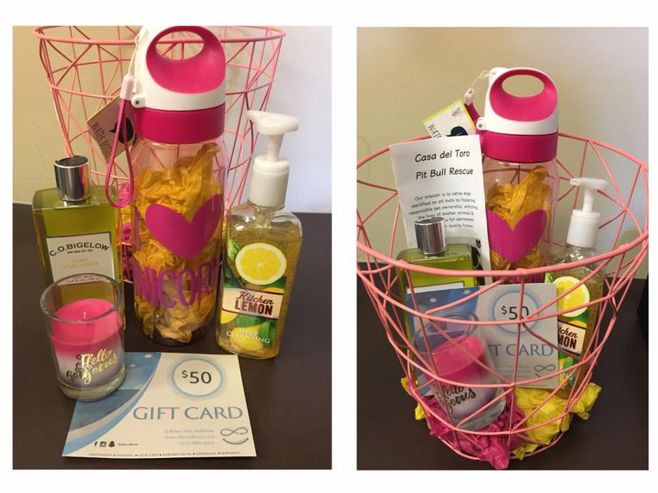 $50 Spa Gift Basket