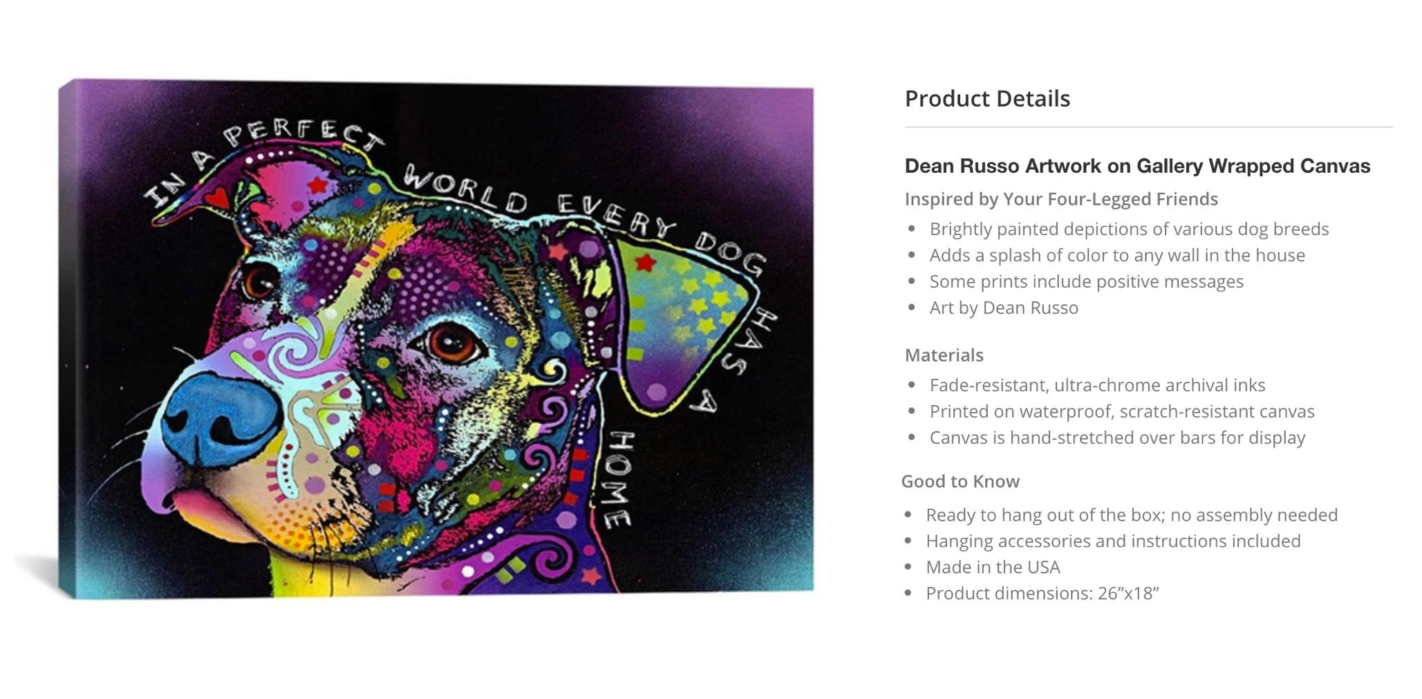 Dean Russo Canvas