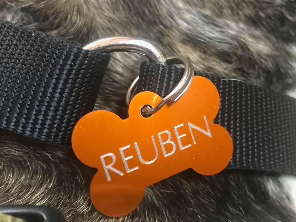 Reuben's Dog tag
