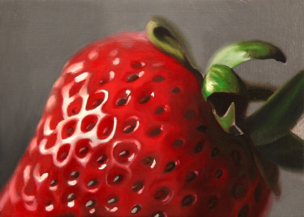 """The Perfect Choice 5"""" x 7"""" oil on panel SOLD"""
