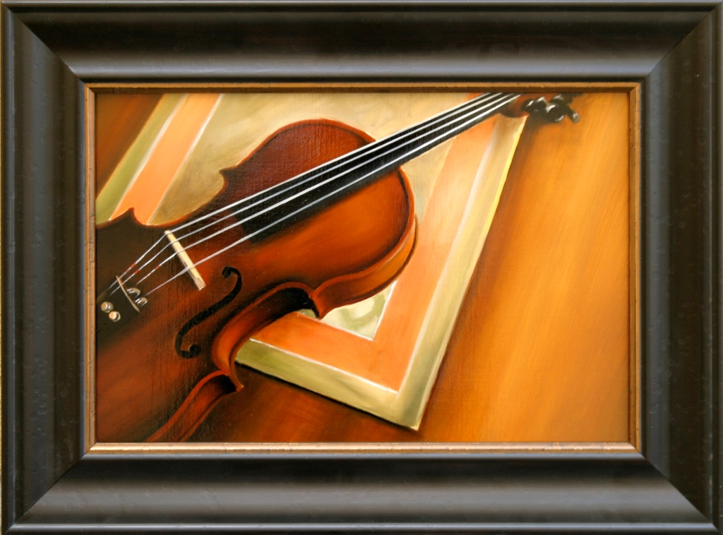 """A Simple Symphony 12"""" x 18"""" Oil on Linen SOLD"""