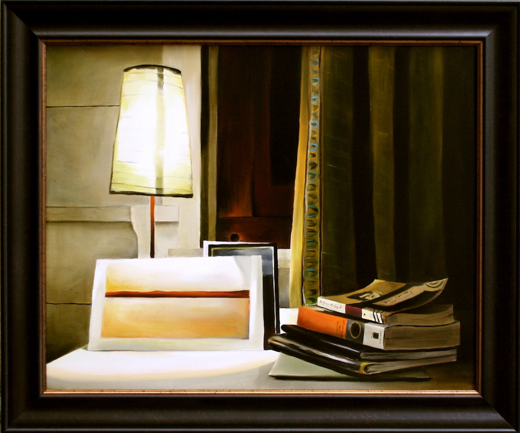 """Memoirs from the Neve Wing 24"""" x 30"""" Oil on Linen SOLD"""