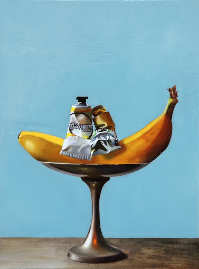 """The Perfect Couple 9"""" x 12 oil on panel SOLD"""
