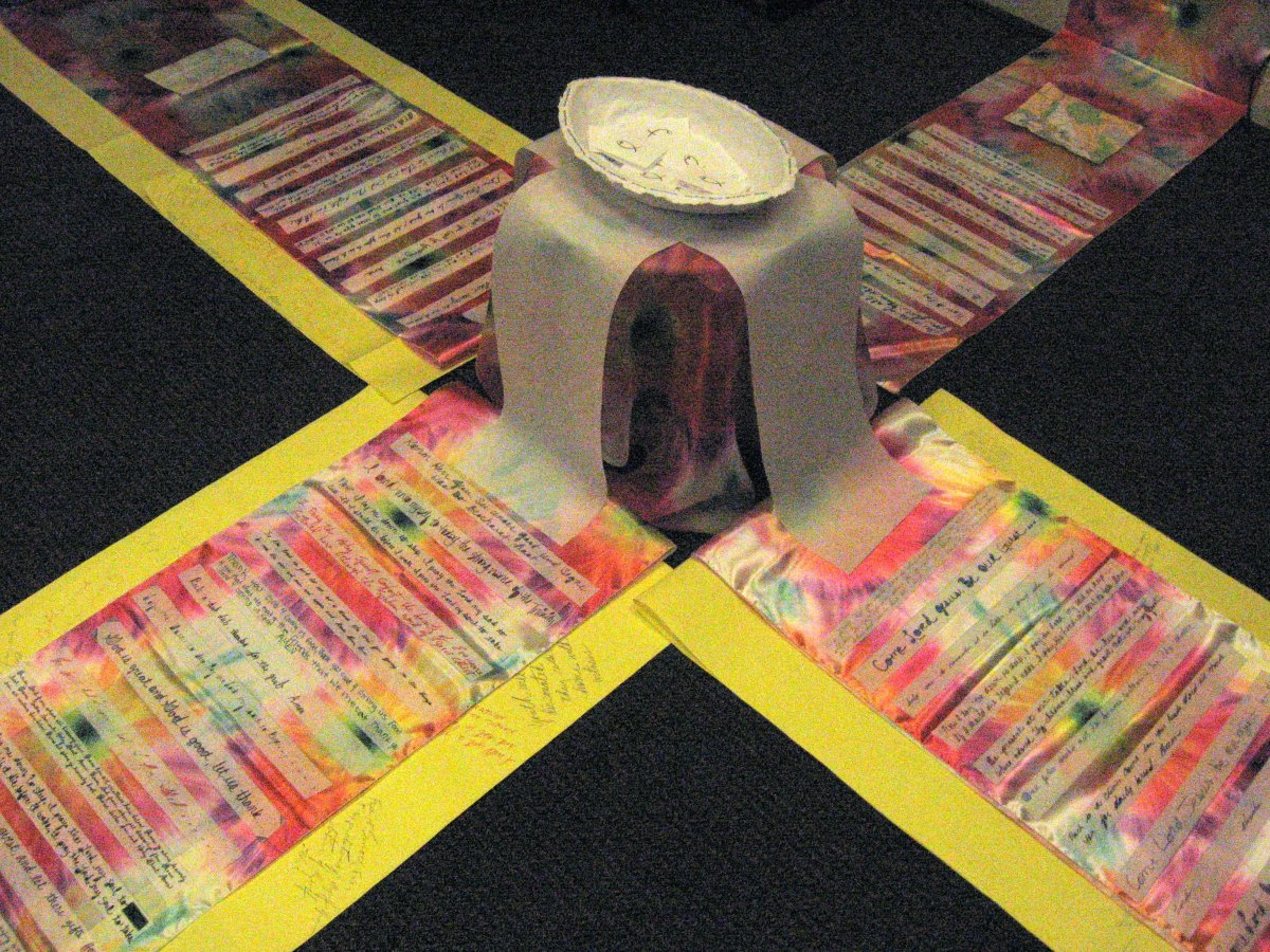 Prayer Installation, Art Workshop, New Orleans, LA