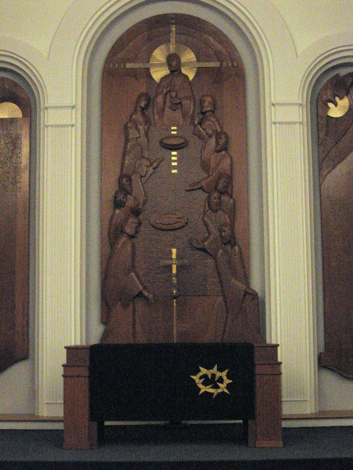 Good Friday Chancel, Black frontal