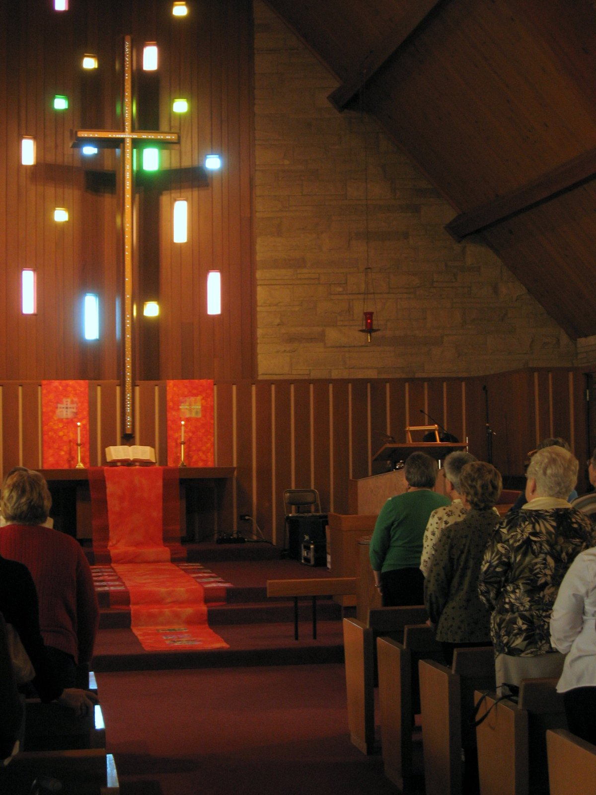 Overview, Worship Installation, Christian Women's Retreat