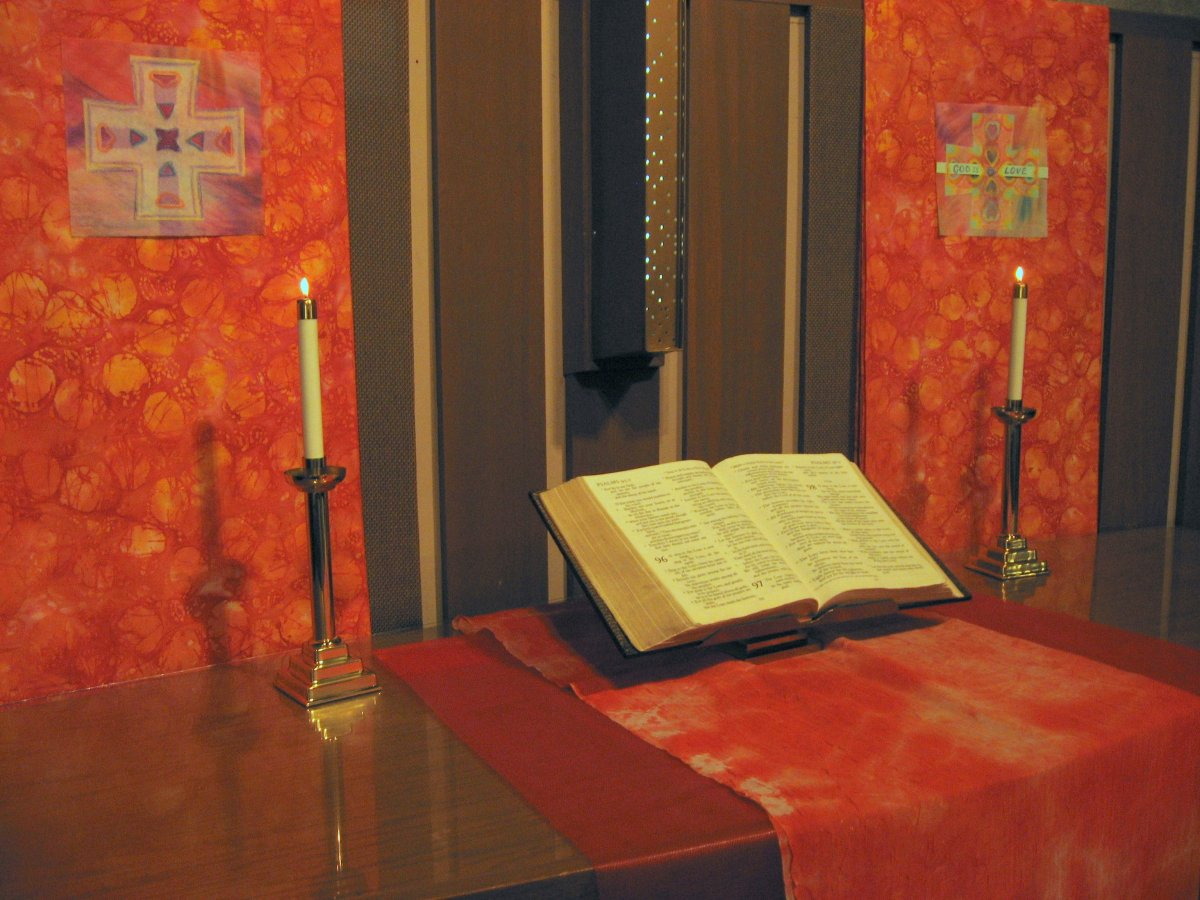 Close-up, Worship Installation, Christian Women's Retreat