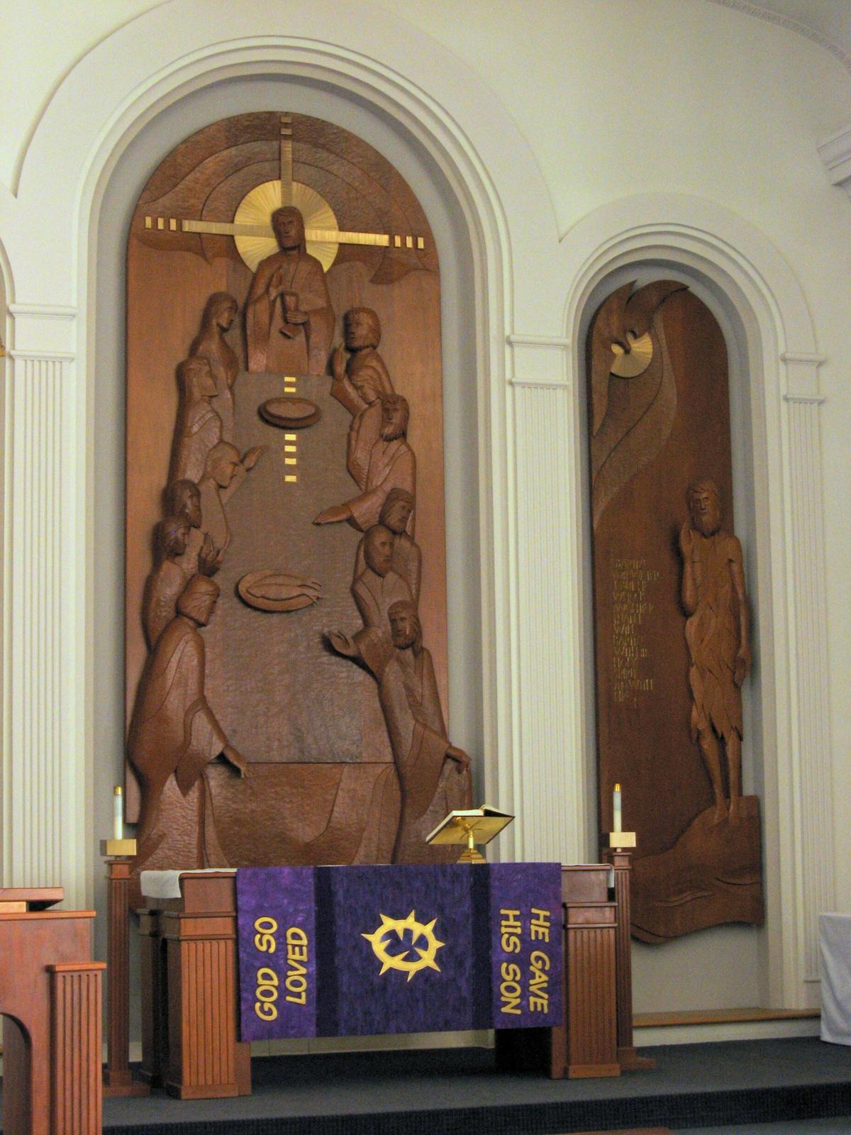 Altar Frontal, Lent