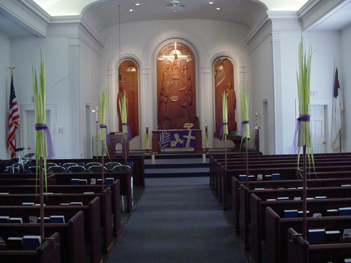 Sanctuary Installation, Palm Sunday