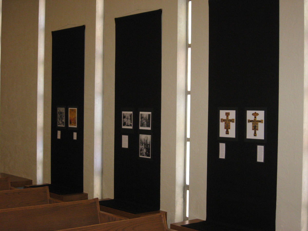 Meditation Gallery, Nave wall (1 of 2)