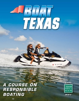 """""""Official safety book of Texas Parks and Wild Life boat safety course, which Water Ski Lake Austin follows and teaches!"""""""