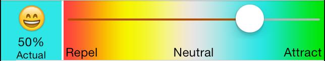 NewsBrain Level Adjust Slider