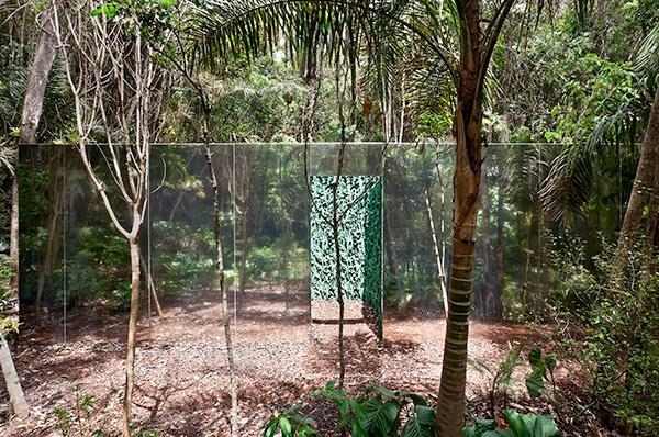 Cristina Iglesias,Vegetation Room  Inhotim, MG