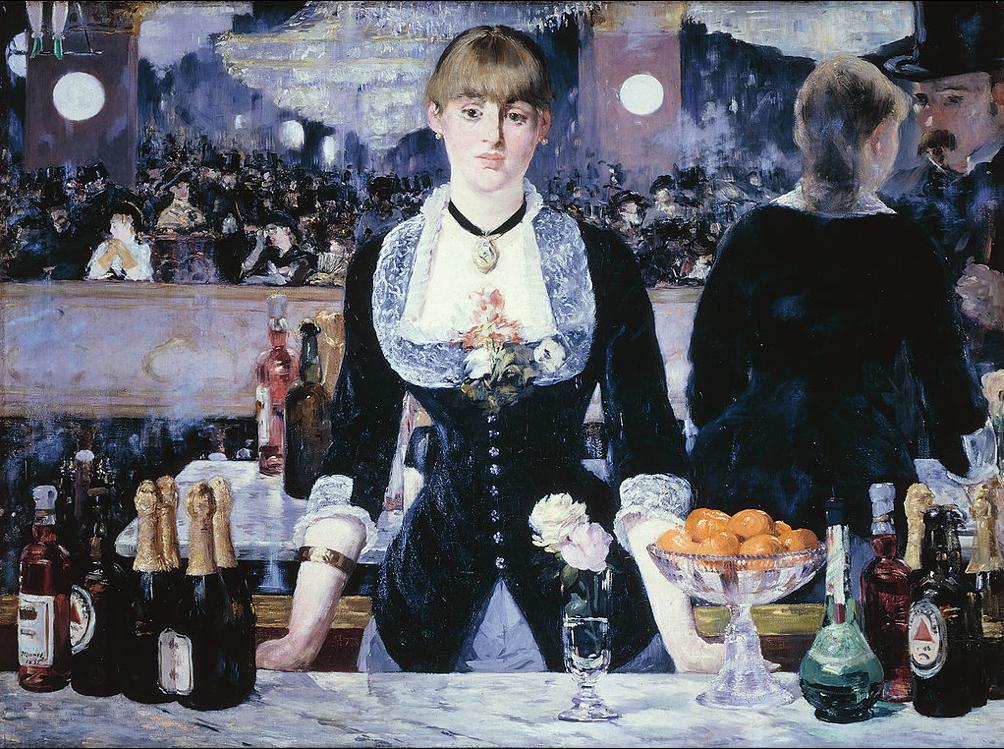 Bar no Folies-Bergère, 1882